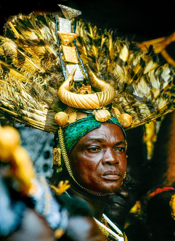 Ashanti Chief Sword Bearer, Protector of the King, Ghana
