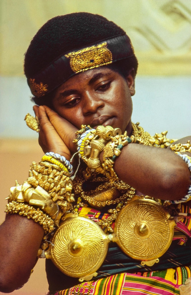 Ashante Royal Dancer, Ghana