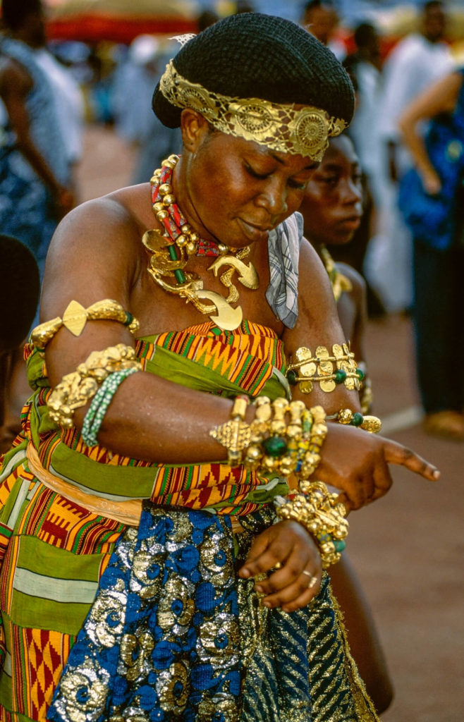 Ashanti Court Dancer, Ghana