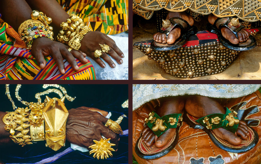 Details of Ashanti Adornments, Ghana