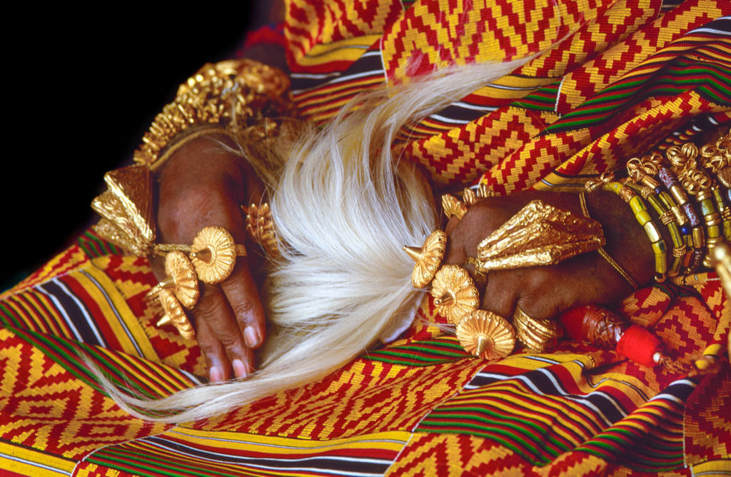 The Asantehene's Golden Jewellery, Ghana