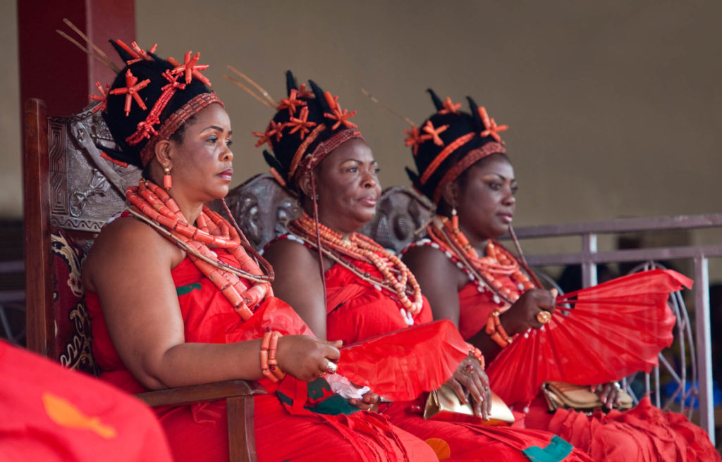 The Wives of the Oba of Benin, Nigeria