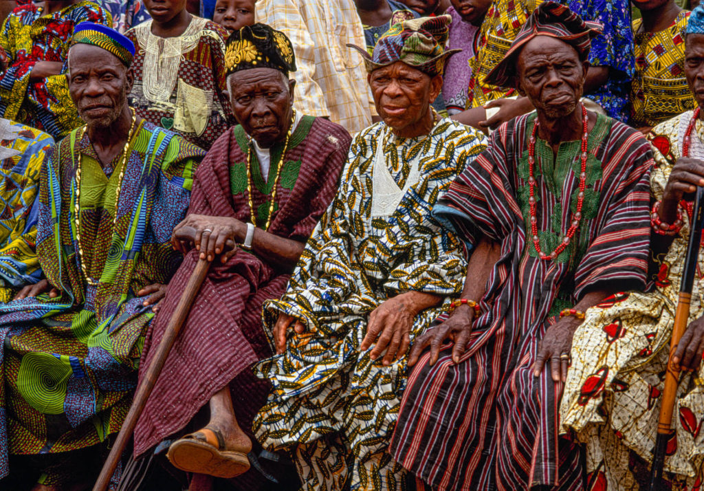 Yoruba Elders and Chiefs, Benin