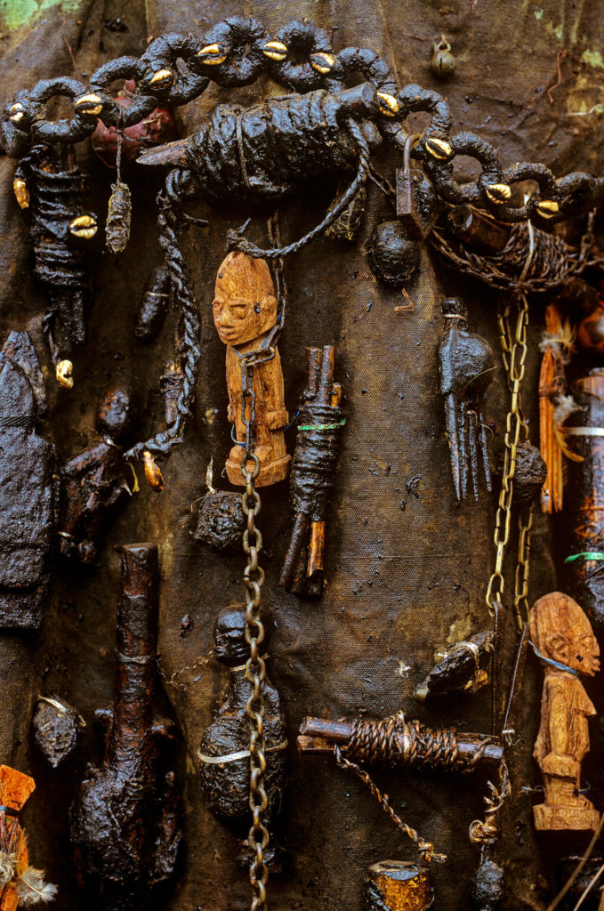 Bib of Egun Bla Mask, Benin