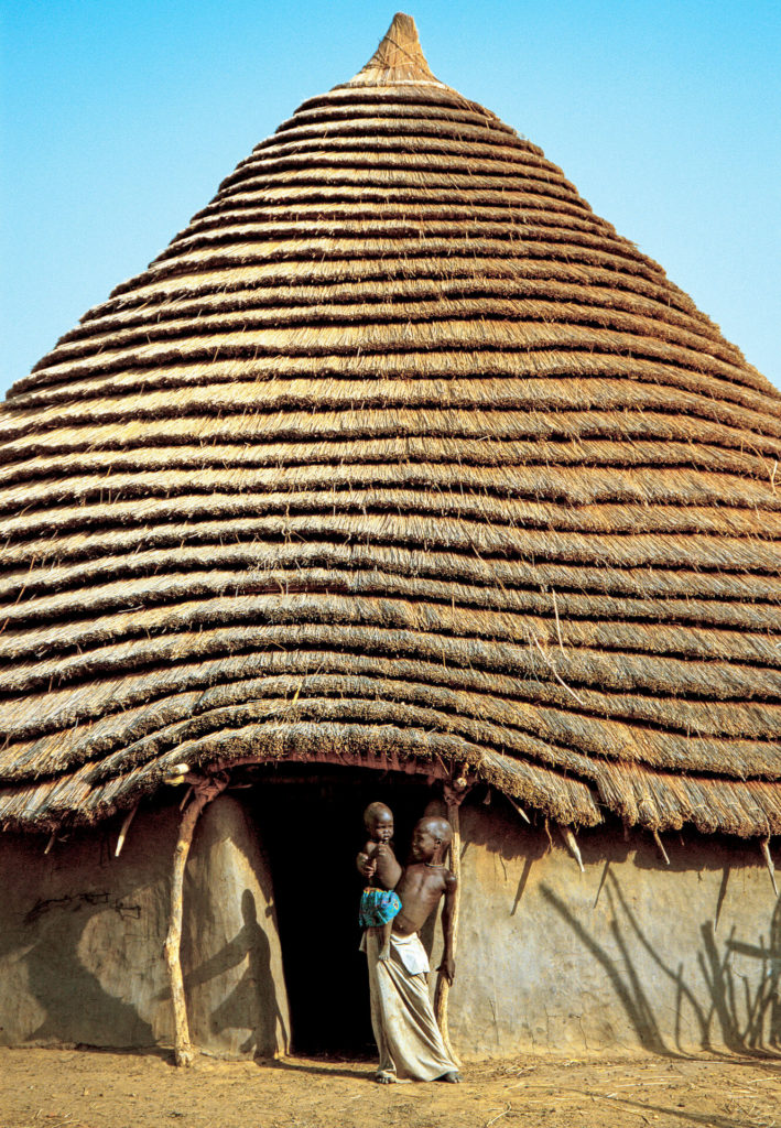Conical Thatched Abode