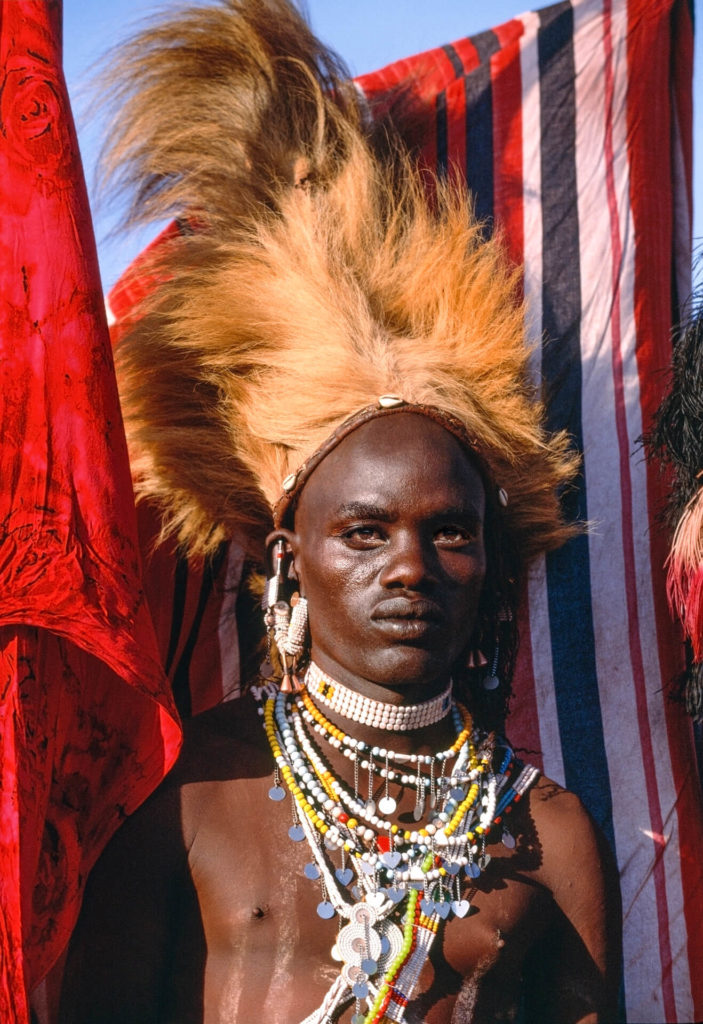 A Salei Maasai Warrior