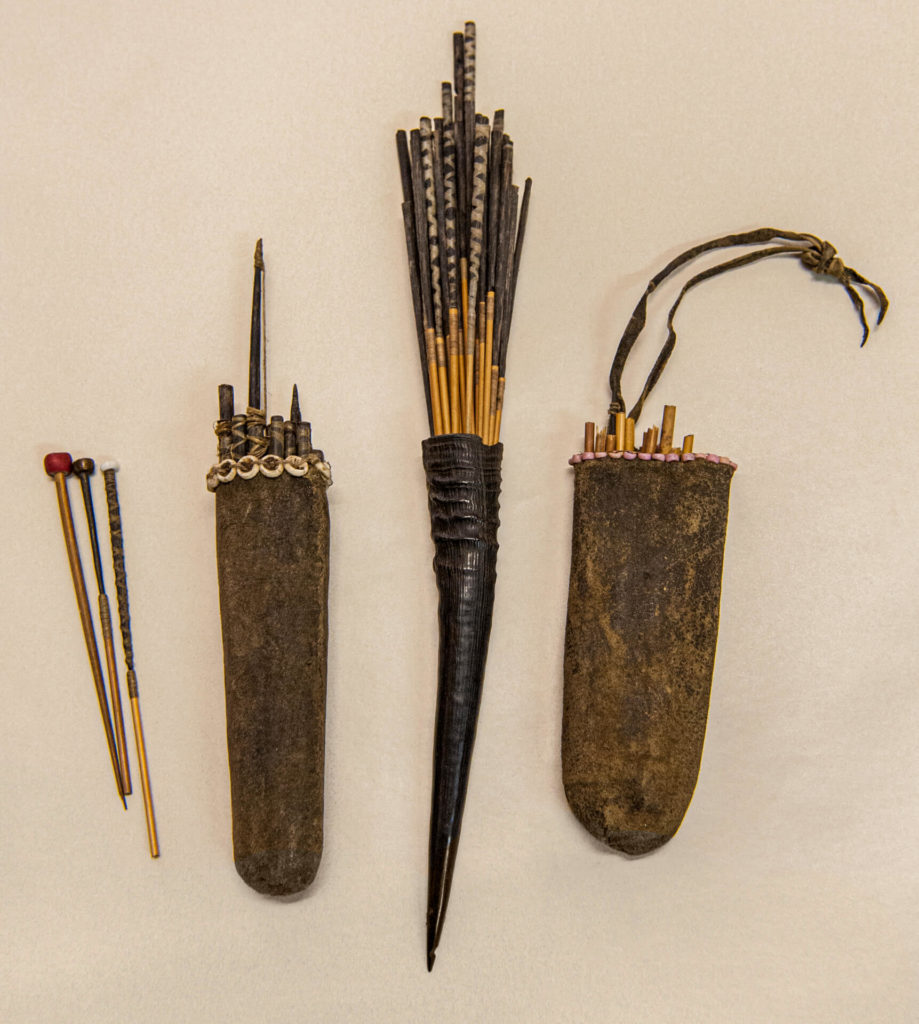 A Collection of Arrows and Quivers, San Bushmen, Botswana