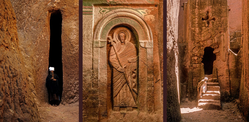 Carved Saints and Chiselled Pathways