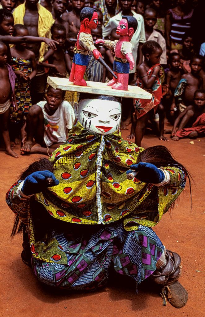 Awo Mask of Two Brothers