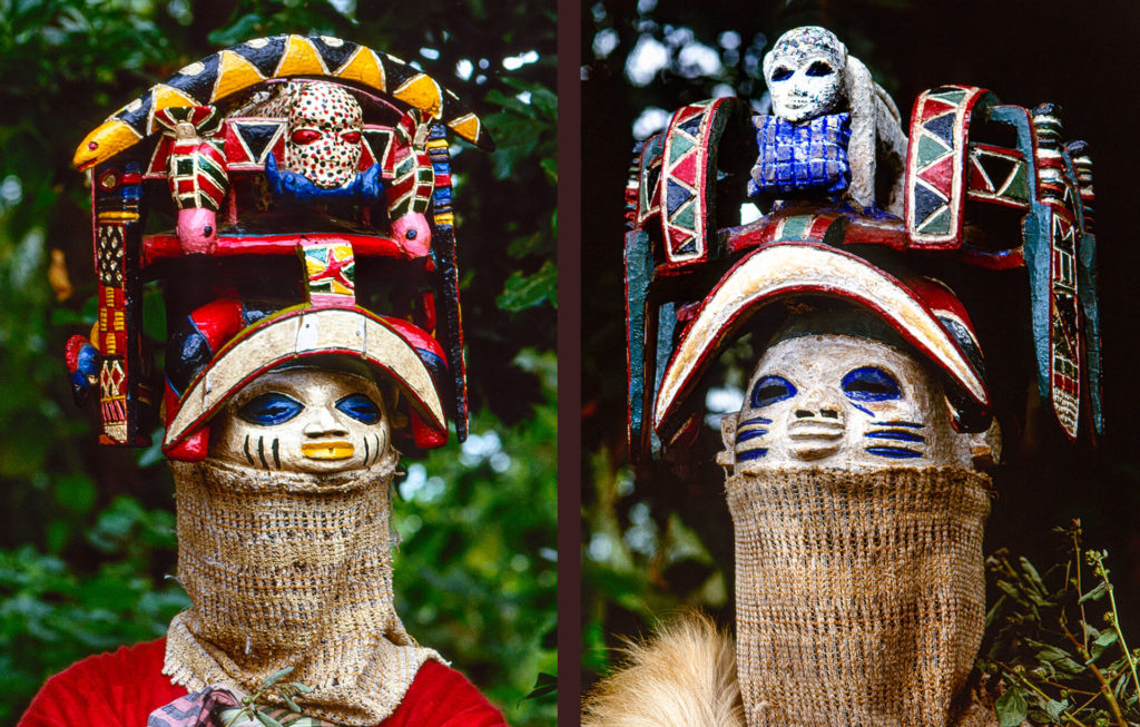 Mongoose and Serpent Masks
