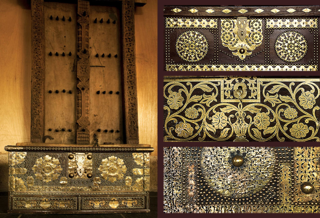 Chests from the Dhow Sea Trade