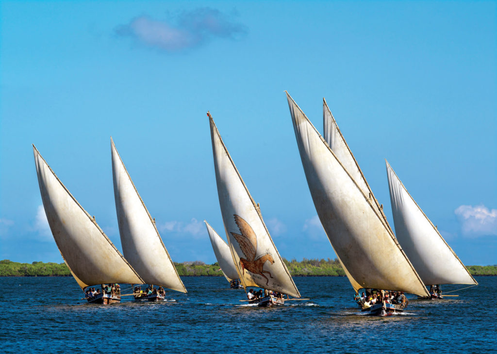 Sailing Dhows