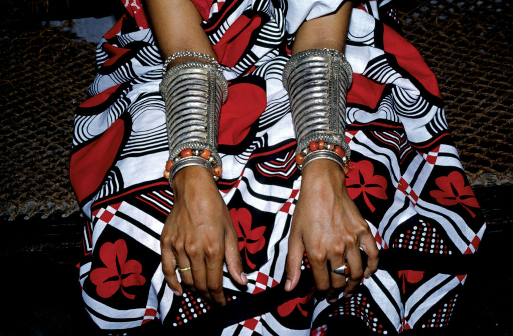 Silver Armlets, Patterned Wraps