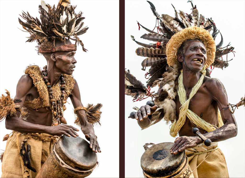 Pende Drum Players, DR Congo